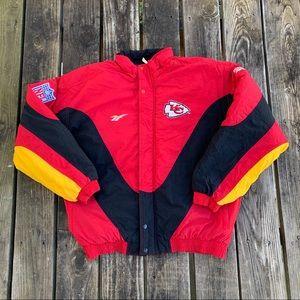 Kansas City Chiefs Pro Line Reebok Puffer Jacket